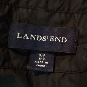 Lands' End Jackets & Coats - Lands' End black puffer coat Small 6-8